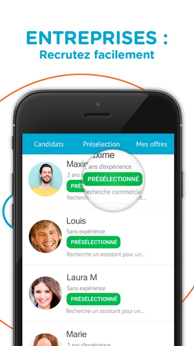 download CornerJob - Offres d'Emploi apps 4
