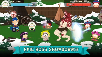 Screenshot of South Park: Phone Destroyer™ App