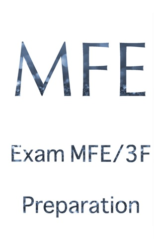 Exam MFE Preparation screenshot 1