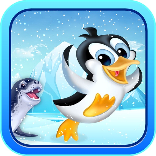Penguin Racing: Slide and Fly iOS App