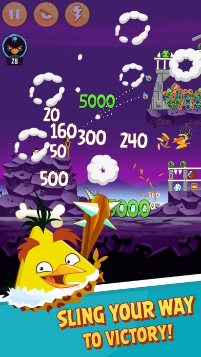 Screenshot of Angry Birds Classic2