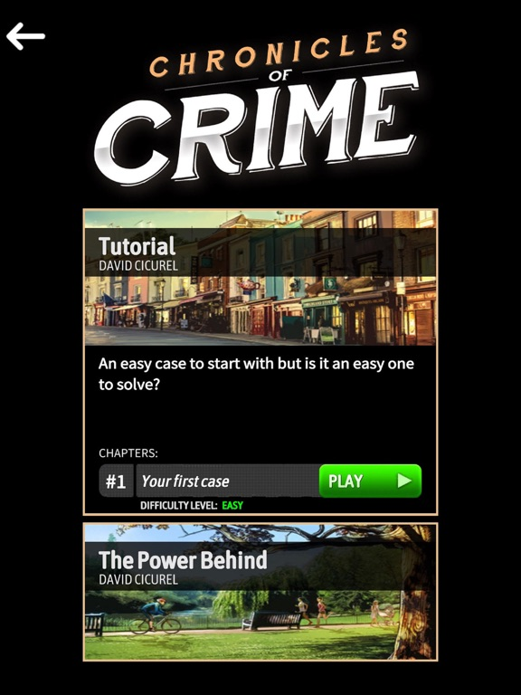 Chronicles of Crime Скриншоты8