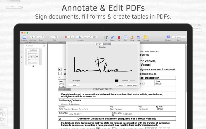 Screenshot #2 for PDF Reader Premium – Edit, Sign and Convert PDFs