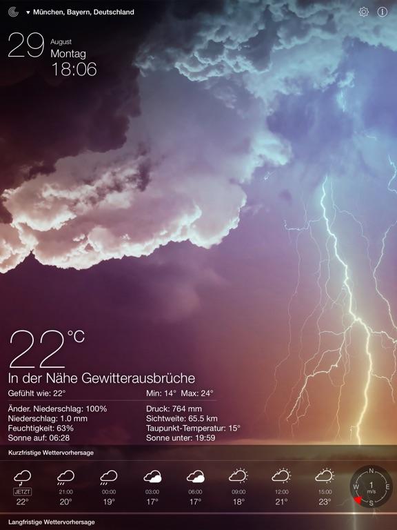 Wetter Live - Lokale Prognose Screenshot