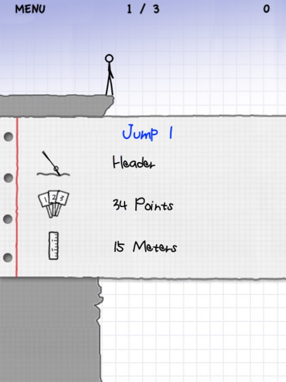 Stickman Cliff Diving Screenshots