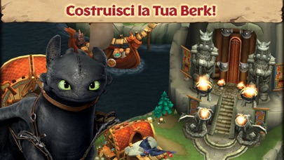Screenshot of Dragons: L'ascesa di Berk1