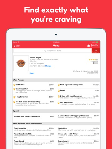 Grubhub – Order Food Delivery screenshot 2