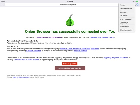 Screenshot #2 for Onion Browser