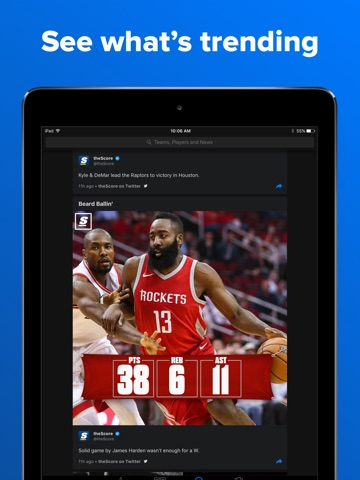 theScore: Sports News & Scores screenshot 4