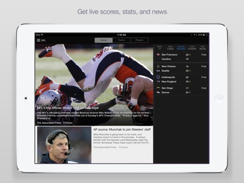 Yahoo Sports: Scores & News screenshot 1