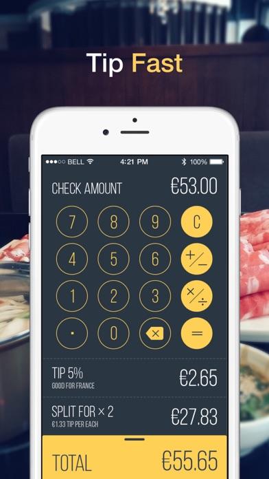 GlobeTipping - Tipping Calculator & Advisor Screenshot 1