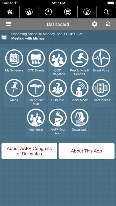 Screenshot #5 for AAFP Congress of Delegates 2017