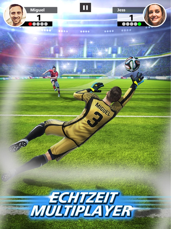Screenshot 1 Football Strike