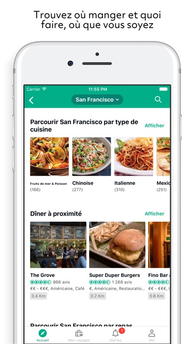 download TripAdvisor hôtels restaurants apps 0