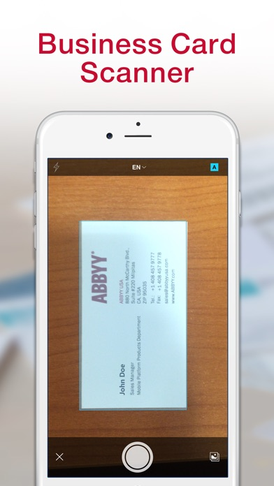 ≡ Business Card Scanner Pro Screenshots