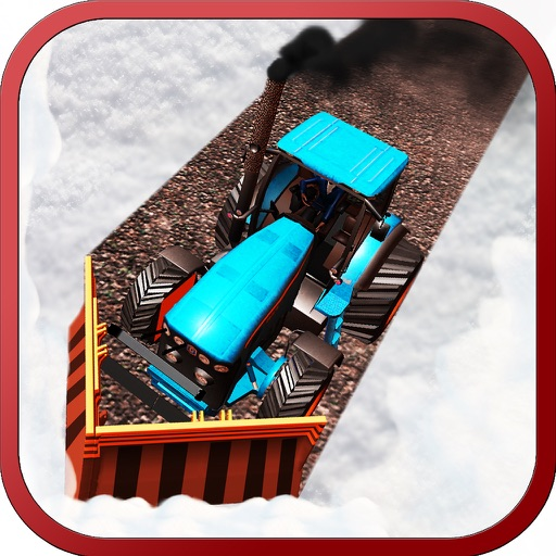Snow Plow Tractor Simulator