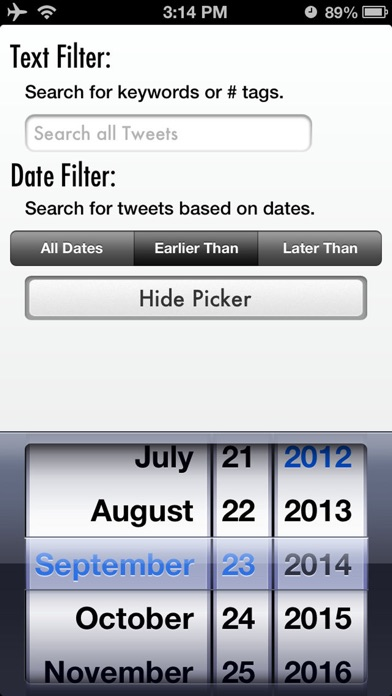 Tweet Cleaner - Delete Tweets Screenshots