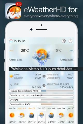 eWeather HD - Weather & Alerts screenshot 1