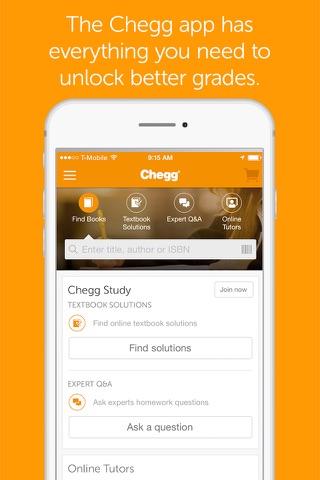 Chegg Study screenshot 1