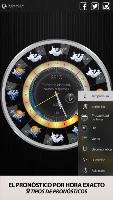 download Tiempo & Reloj Widget apps 1