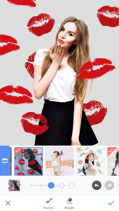 Screenshots of Meitu for iPhone
