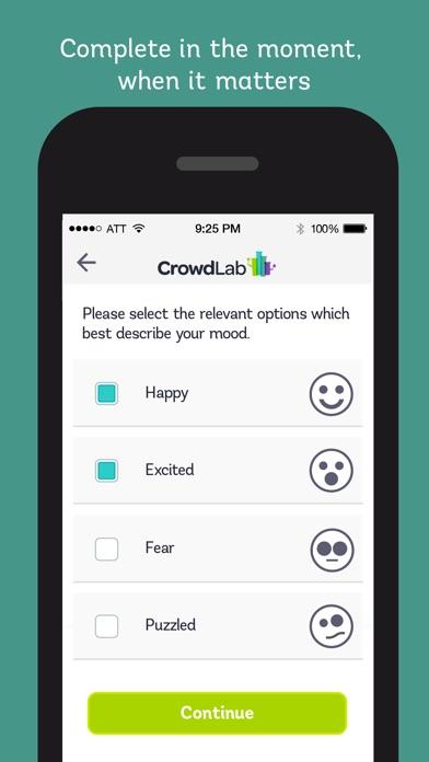 Screenshot of CrowdLab3
