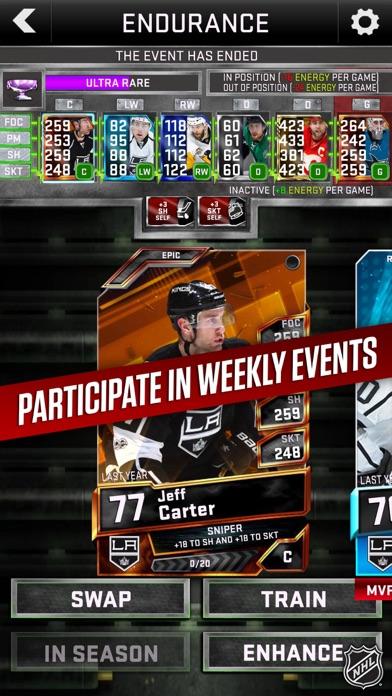 Скриншот NHL SuperCard 2K18