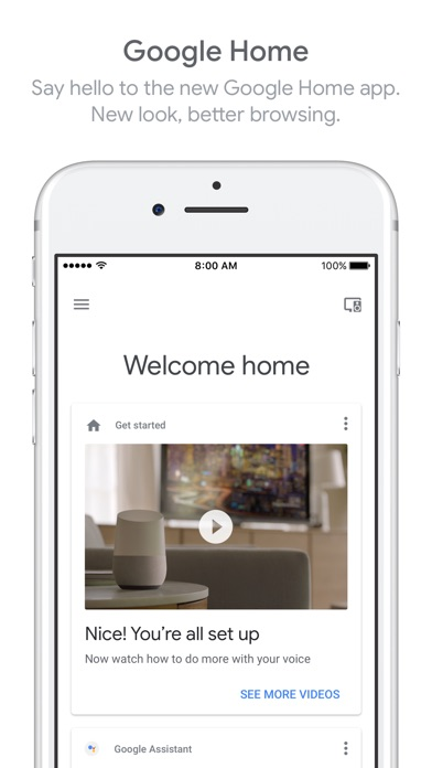 download Google Home apps 1