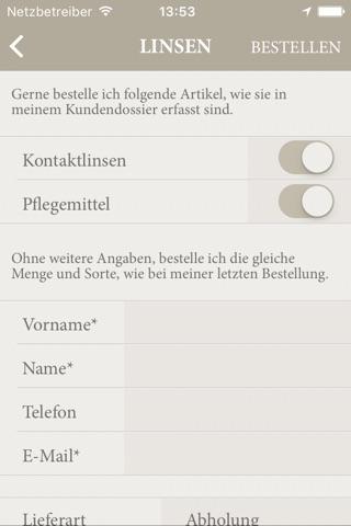 Vögele Optik screenshot 4