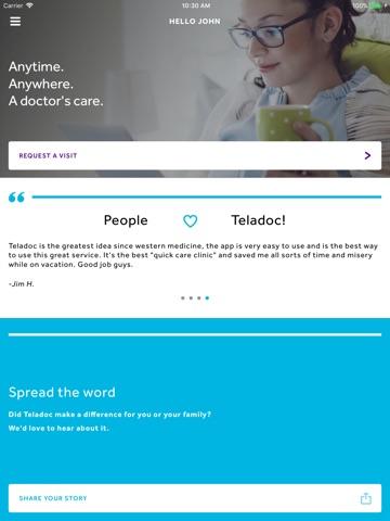 Teladoc screenshot 2