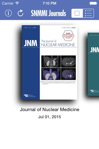 SNMMI Journals screenshot 1