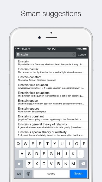 Advanced English Dictionary & Thesaurus Screenshot 4