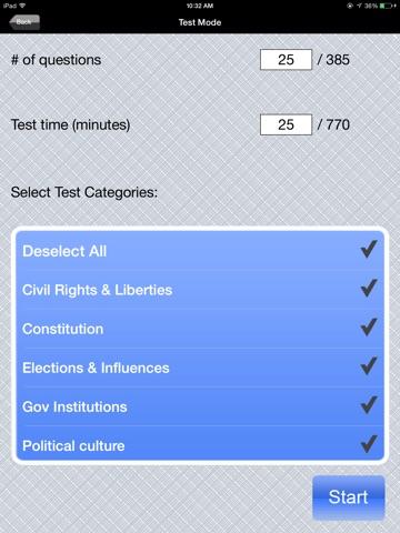 AP US Government and Politics screenshot 4
