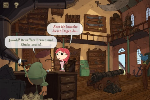 Nelly Cootalot: The Fowl Fleet screenshot 2