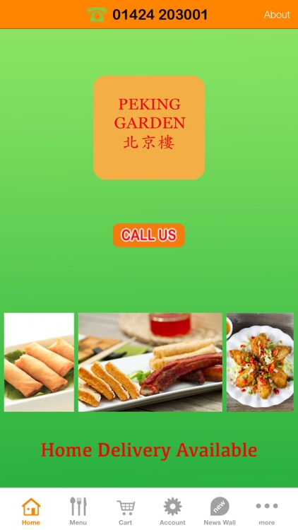 Peking Garden, Leonard-on-sea by Vittle Apps