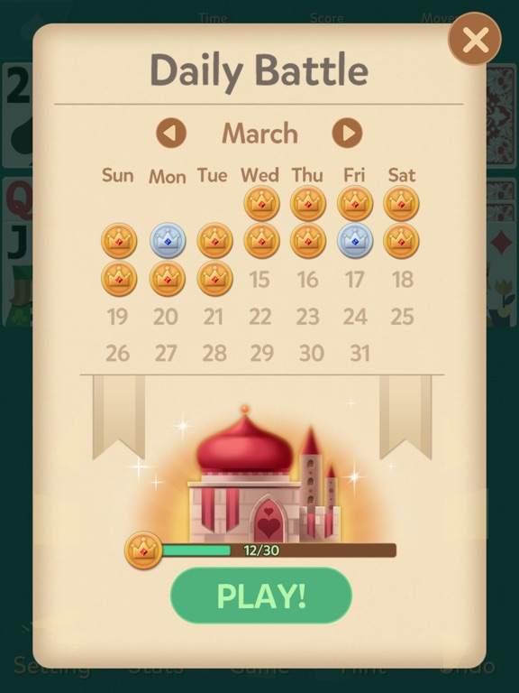 Klondike Solitaire: Kingdom screenshot 9