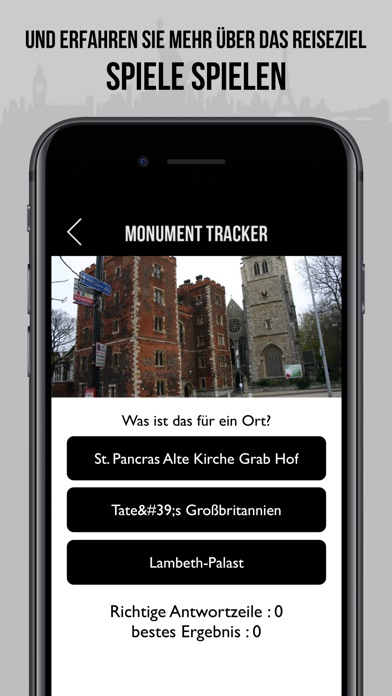 London Reiseführer Monument - offline Karte Screenshot