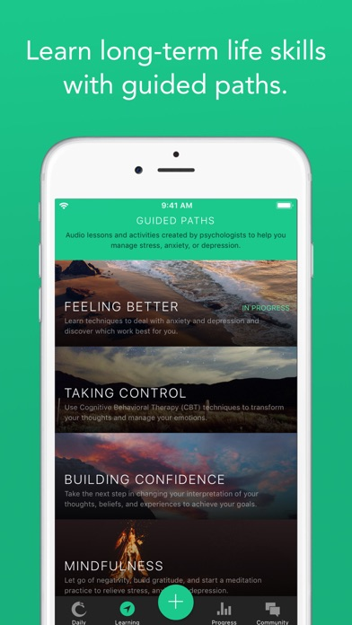 download Pacifica for Stress & Anxiety appstore review