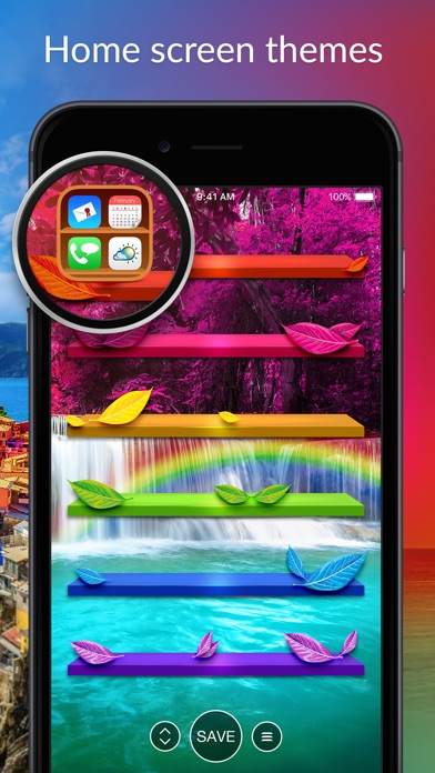 Pimp Your Screen - Custom Themes and Wallpapers for iPhone, iPod touch and iPad Screenshot 2