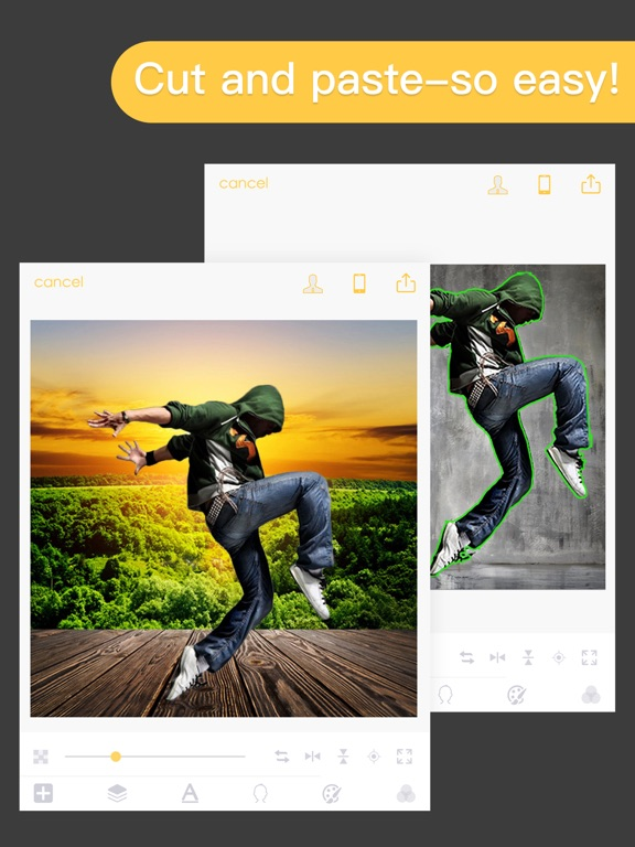 KnockOut HD Pro-Photo Editor Screenshots