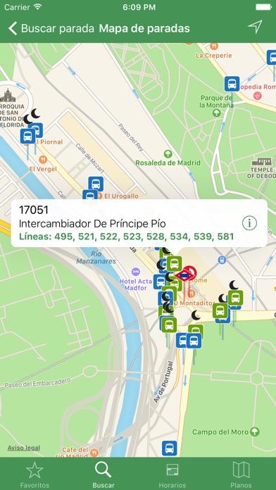 Transporte Madrid Tiempo Real en el App Store