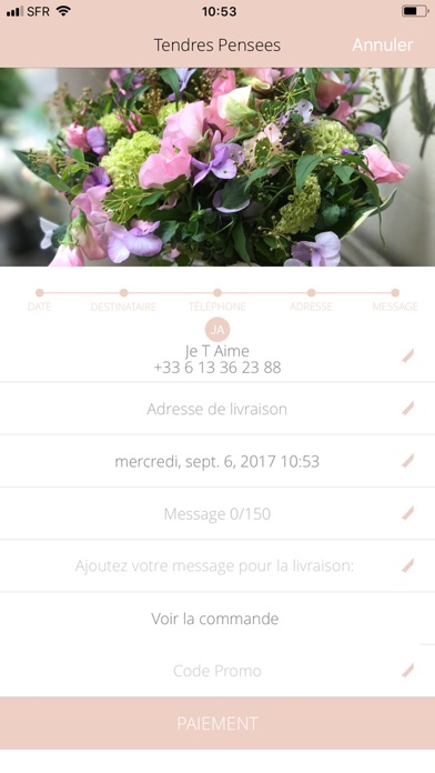FleursAppCapture d'écran de 5