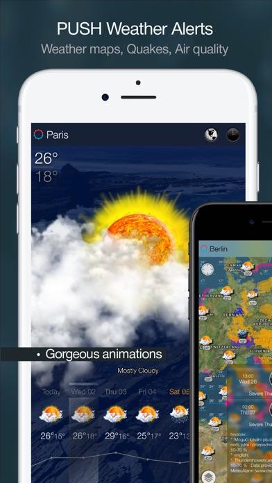 eWeather HD - Weather forecast Premium Screenshot 3