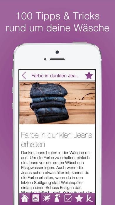 100 Tipps für deine Wäsche PRO Screenshots