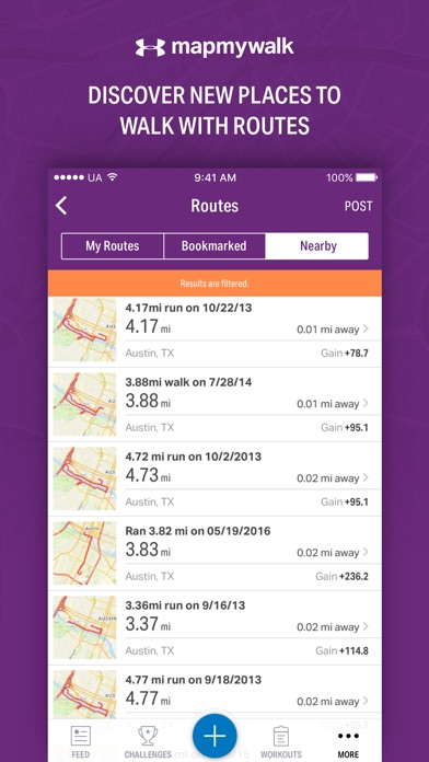 download Map My Walk by Under Armour appstore review