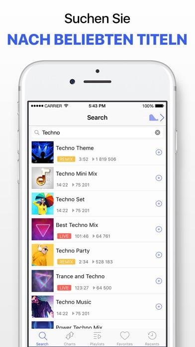 Screenshot for Musik Player ohne Grenzen in Switzerland App Store