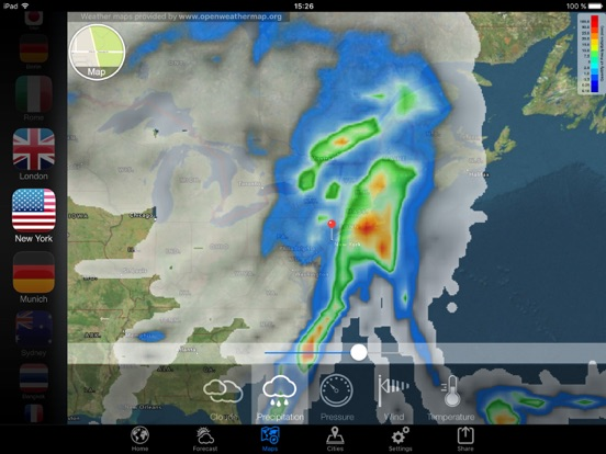 Weather Now - Widget, US Alert Screenshots