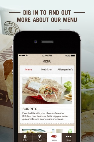 Chipotle screenshot 3