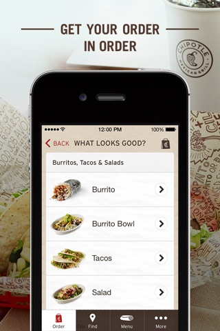Chipotle screenshot 4
