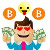 Phairin Chailert - Bitcoin Moji-Crypto Stickers artwork